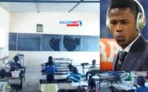 Images fortes: Des enfants en plein cours dans l'école construite par Keita Diao Baldé