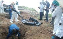 Exhumation de corps de victimes du régime de Jammeh