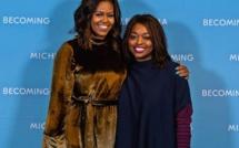 Amy Sarr Fall s'affiche avec Michelle Obama