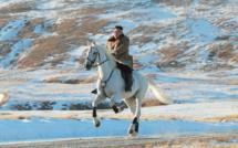 Kim Jong-un et son cheval blanc, une image forte en symboles
