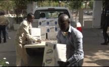 CORONAVIRUS: Doudou Ka offre des tonnes de produits détergents à la population de Ziguinchor