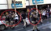 Regardez comment la police Brésilienne maltraite les commerçants Sénégalais