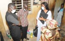Inondations à Grand Yoff: Fatoumata Niang Ba au chevet des sinistrés