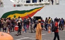 Reprise des rotations des navires: Les Passagers accueillis à Ziguinchor par les femmes du bois sacré (REGARDEZ)