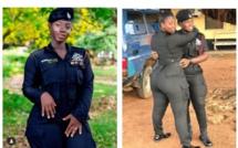 Ama Serwaa Dufie, « la plus belle femme au service de la police du Ghana »