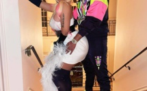 Nicki Minaj avec son mari Kenneth Petty