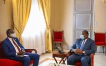 PALAIS: Me Augustin Senghor reçu par Macky
