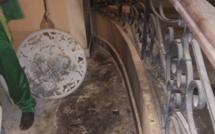 Incendie chez Seydou Diouf :  les premières images