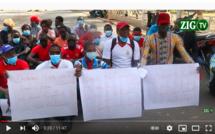 Liberté de la presse : Les journalistes de Ziguinchor dans la rue