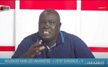 """Birima Ndiaye : """"Le souhait de certains politiciens, qu'on tue un étudiant pour régler leur compte"""""""