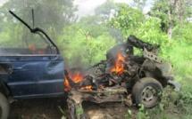 Côte d'Ivoire : Un pick-up de la gendarmerie ivoirienne endommagé par un engin explosif improvisé